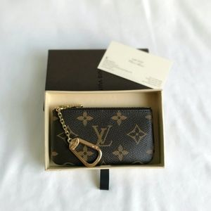 Made in France!  Louis Vuitton Monogram Key Pouch